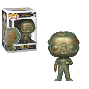 Marvel Patina Stan Lee Funko Pop! Figuur