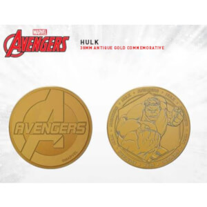 Marvel The Hulk Collectible Evergreen Commemorative Coin