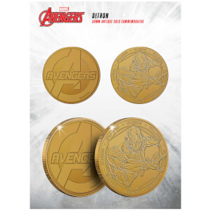 Marvel Ultron Collectable Evergreen Commemorative Coin