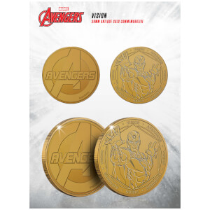 Marvel Vision Collectable Evergreen Commemorative Coin