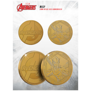 Marvel The Wasp Collectible Evergreen Commemorative Coin