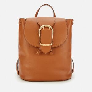 Lauren Ralph Lauren Women's Soft Pebble Leather Backpack - Lauren Tan