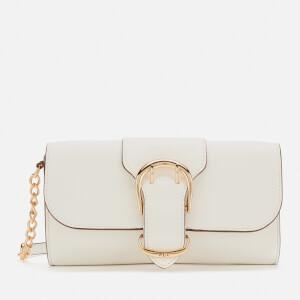 Lauren Ralph Lauren Women's Soft Pebble Leather Clutch Bag - Vanilla