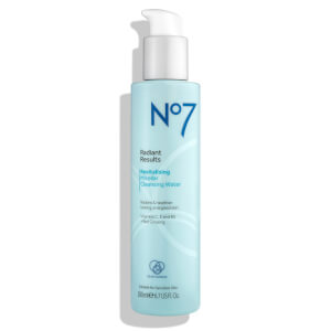 Boots No.7 Radiant Results Revitalising Micellar Cleansing Water 6.7oz