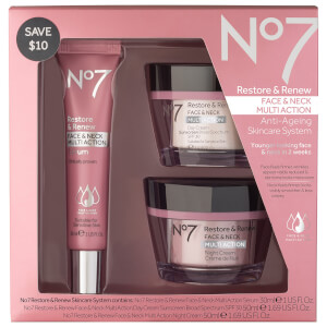 Boots No.7 Restore and Renew Multi Action Skincare System 50oz