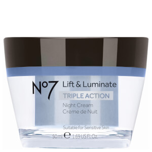 Boots No.7 Lift and Luminate Triple Action Night Cream 1.69oz