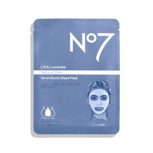 Boots No.7 Lift and Luminate Sheet Mask 0.73oz