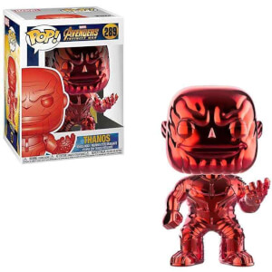 Marvel Thanos Red Chrome EXC Funko Pop! Vinyl
