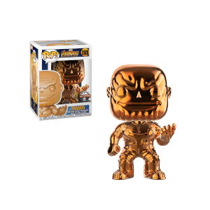 Figurine Pop! Thanos Chrome Orange EXC - Marvel