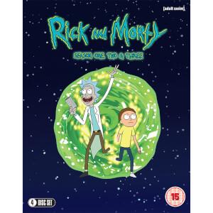 Rick & Morty Season 1-3