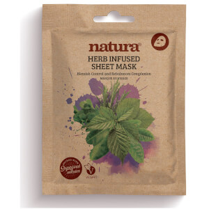 Natura Herb Infused Sheet Mask (25ml)