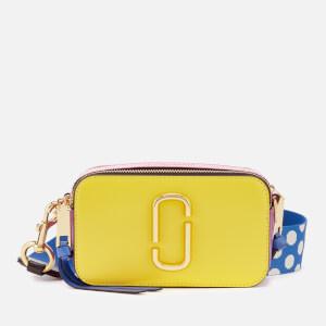 Marc Jacobs Women's Snapshot Bag - Lemon Multi