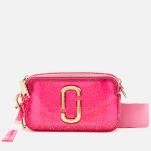 Marc Jacobs Women's The Jelly Glitter Snapshot Bag - Pink Multi