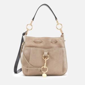See By Chloé Women's Tony Bucket Bag - Motty Grey
