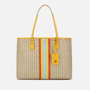 Tory Burch Women's Gemini Link Canvas Tote Bag - Daylily