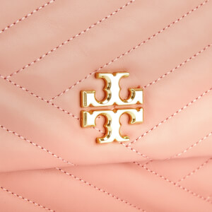 Tory Burch Women's Kira Chevlon Flap Shoulder Bag - Pink Moon: Image 4