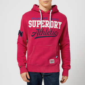 Superdry Men's Interstate Hoodie - Eagle Red