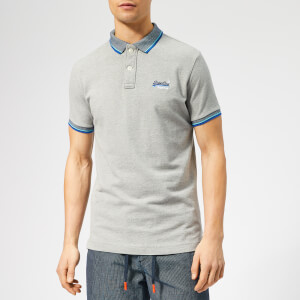 Superdry Men's Sunrise Polo Shirt - Grey