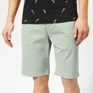 Superdry Men's Slim Chinos Shorts - Haze Green
