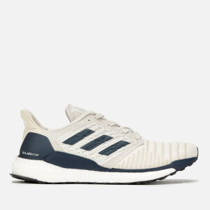 adidas Men's Solar Boost Trainers - Raw White/Legend Ink/True Orange
