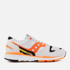 Saucony Men's Azura Trainers - White/Orange/Black