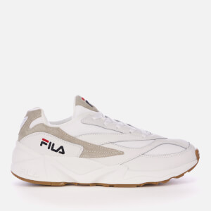 FILA Men's Venom Low Trainers - Triple White