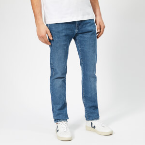 Edwin Men's ED-80 Slim Tapered Braxton Blue Denim Jeans - Eastside Wash