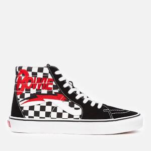 8c13421aa7 Vans X David Bowie Men s Sk8-Hi Trainers - Bowie Checkerboard
