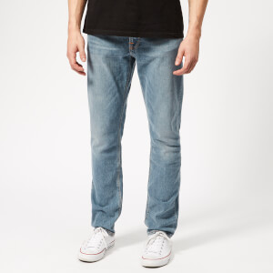 Nudie Jeans Men's Lean Dean Tapered Jeans - Mid Stone Comfort