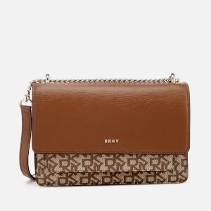 DKNY Women's Bryant Small Chain Cross Body Bag - Chino/Vicuna