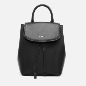 DKNY Women's Lex Small Convertible Backpack - Black/Gold