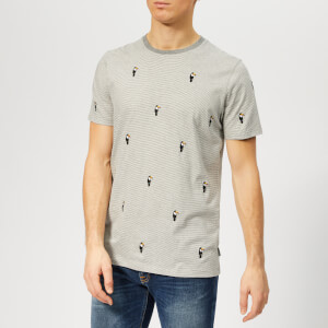 Ted Baker Men's Vipa T-Shirt - Grey-Marl