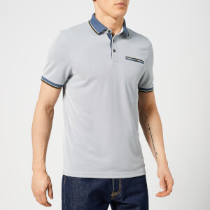 Ted Baker Men's Habtat Polo Shirt - Mid-Blue