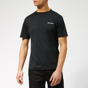 Columbia Men's Zero Rules Short Sleeve T-Shirt - Black