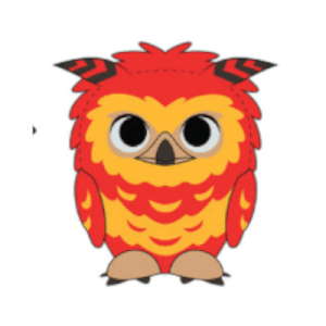 Peluche SuperCute Fawkes - Harry Potter
