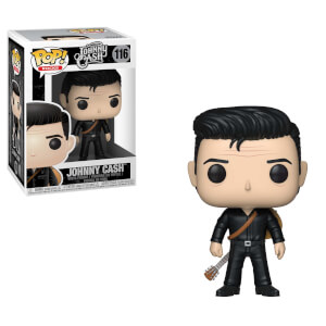 Pop! Rocks Johnny Cash in Black Pop! Vinyl Figure
