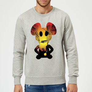 Danger Mouse Skyscraper Car Sweatshirt - Grey