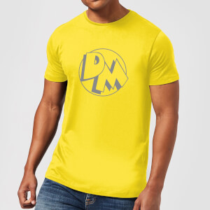 Danger Mouse Initials Men's T-Shirt - Yellow