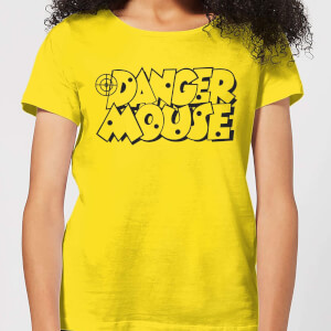 Danger Mouse Target Women's T-Shirt - Yellow