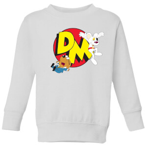 Danger Mouse Run! Kids' Sweatshirt - White