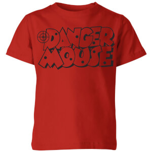 Danger Mouse Target Kids' T-Shirt - Red