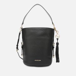 1f72b8600e33 MICHAEL MICHAEL KORS Women's Brooke Medium Bucket Messenger Bag - Black