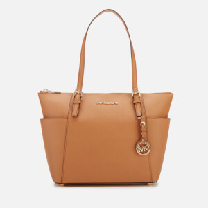 MICHAEL MICHAEL KORS Women's Jet Set East West Top Zip Tote Bag - Acorn