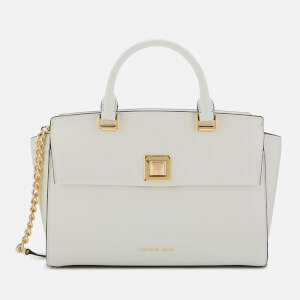 MICHAEL MICHAEL KORS Women's Sylvia Medium Satchel - Optic White