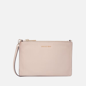 MICHAEL MICHAEL KORS Women's Large Double Pouch Cross Body Bag - Soft Pink