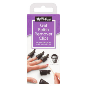 stylFile 5 x Gel Remover Nail Clips