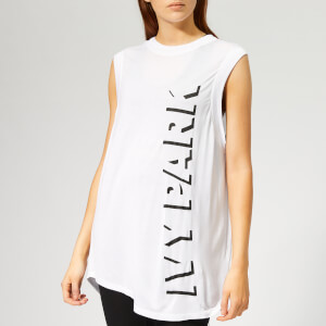 Ivy Park Women's Logo Sleeveless Tank Top - White