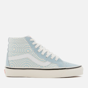 Vans Anaheim 38 Dx Sk8-Hi Trainers - Og Light Blue/White/Warp Check
