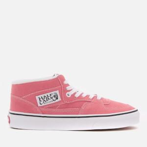 Vans Women's Half Cab Suede Trainers - Strawberry Pink/True White