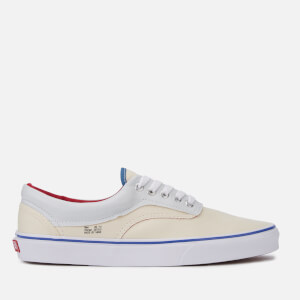 Vans Men's Outside in Era Trainers - Natural/Stv Navy/Red